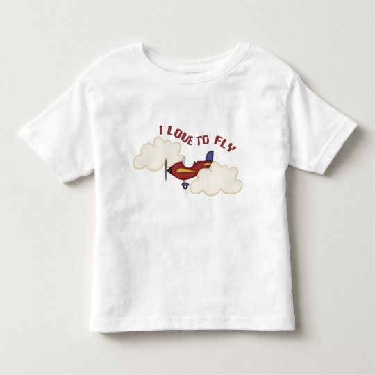 I Love to Fly Toddler T-shirt
