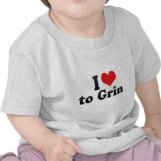 I Love to Grin Shirts
