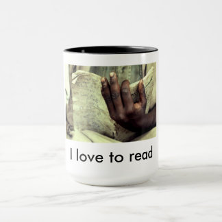 I Love To Read mug2 Mug