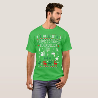 I Love To Teach Economics Christmas Ugly Sweater