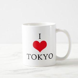 I love Tokyo Mug Stylish Tokyo Mug Japan Lover Mug