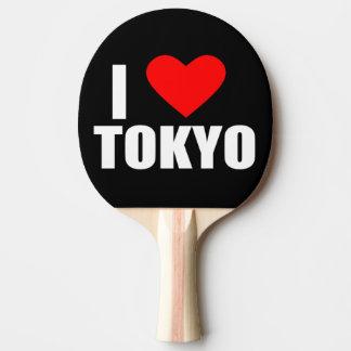 i love tokyo ping pong paddle