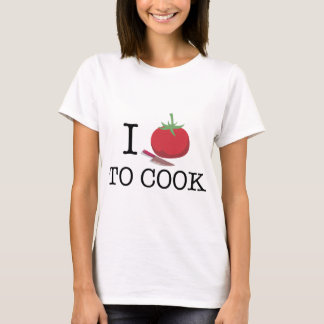 i love ton cook tomato pumpkin T-Shirt