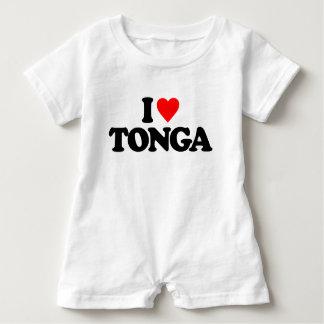 I LOVE TONGA BABY ROMPER