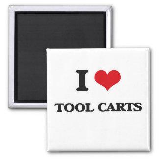 I Love Tool Carts Magnet
