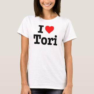 """I LOVE TORI"" T-Shirt"