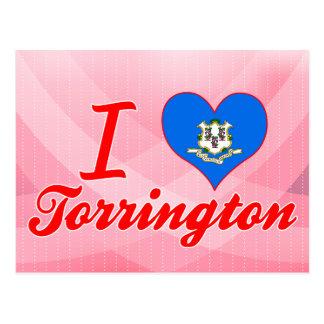 I Love Torrington, Connecticut Postcard