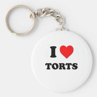 I love Torts Keychain