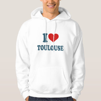 I Love Toulouse Hoodie