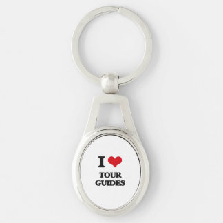 I love Tour Guides Keychain