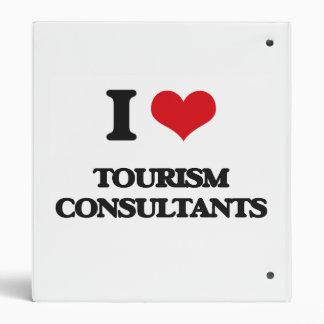 I love Tourism Consultants Vinyl Binder