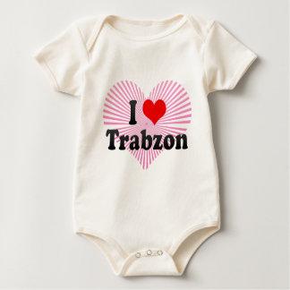 I Love Trabzon, Turkey Baby Bodysuit