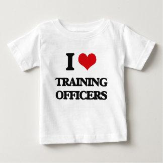 I love Training Officers T Shirt