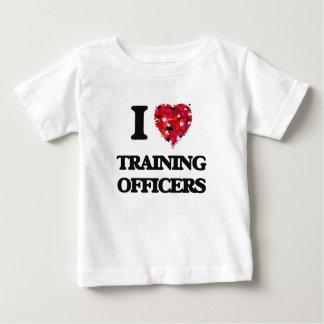 I love Training Officers Tshirt