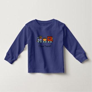 I Love Trains Shirt