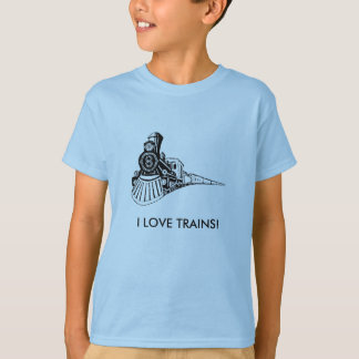 I LOVE TRAINS! T-Shirt