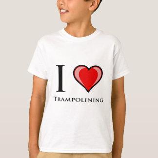 I Love Trampolining T-Shirt