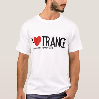 I Love Trance Music Logo T-Shirt