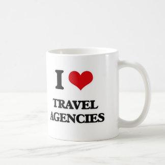 I Love Travel Agencies Coffee Mug