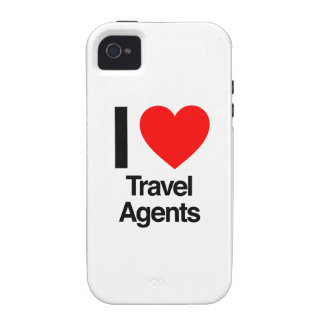 i love travel agents iPhone 4 covers
