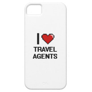 I love Travel Agents iPhone 5 Cover