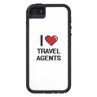 I love Travel Agents iPhone 5 Case