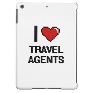 I love Travel Agents Cover For iPad Air