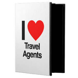 i love travel agents iPad air covers