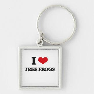 I love Tree Frogs Key Chain