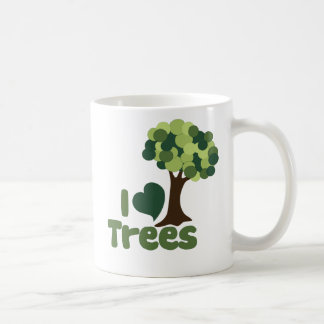 I love trees coffee mug