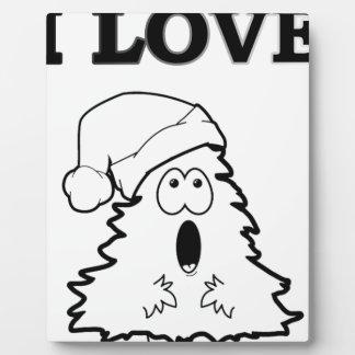 I Love Trees Plaque