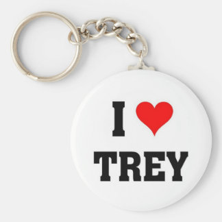 I love Trey Keychain