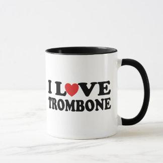 I Love Trombone Mug