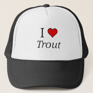I love Trout Trucker Hat