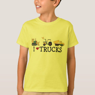I Love Trucks T-shirts and Gifts