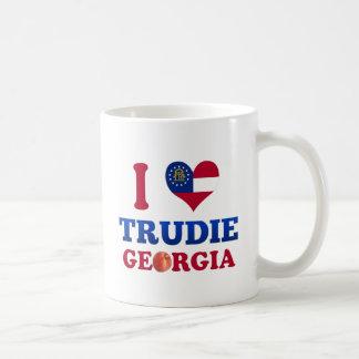 I Love Trudie, Georgia Coffee Mug