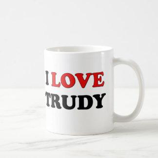 I Love Trudy Mug