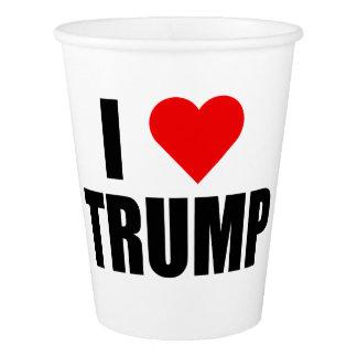 """""""I LOVE TRUMP"""" PAPER CUP"""