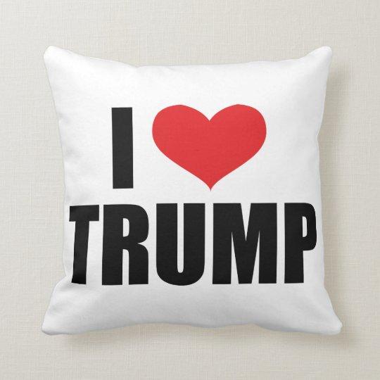 I Love Trump Pillow Cushion