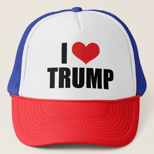 I Love Trump Trucker Cap  cafde8b956a