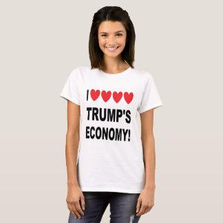 I Love Trump's Economy popular political apparel T-Shirt