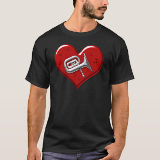 I Love Tuba T-Shirt
