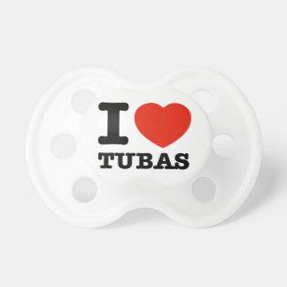 I love tubas pacifier