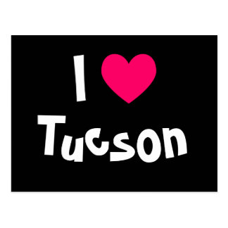 I Love Tucson Postcard