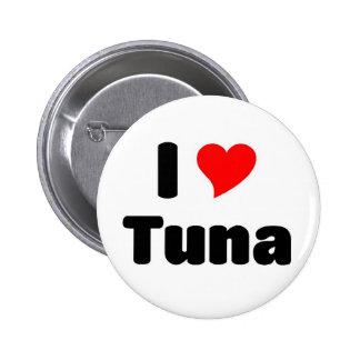 I love Tuna 2 Inch Round Button