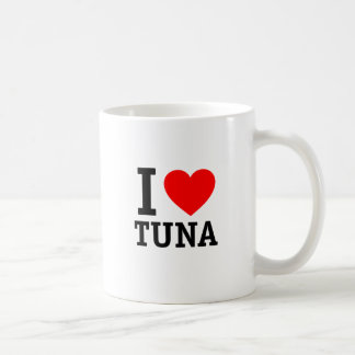 I Love Tuna Coffee Mug