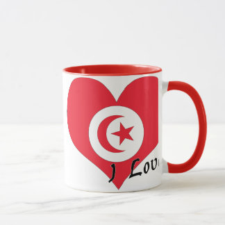I love Tunisia Mug