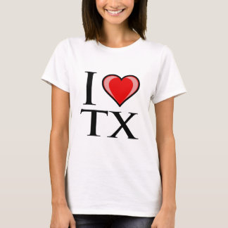 I Love TX - Texas T-Shirt