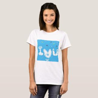 I Love U T-Shirt