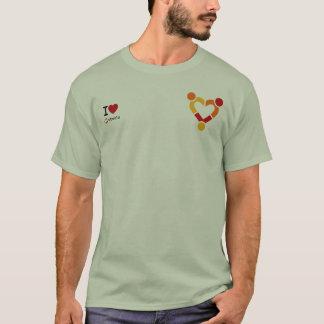 I Love Ubuntu T-Shirt